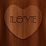 Fondo astratto di legno Immagine Stock Libera da Diritti