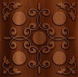 Fondo astratto di legno Immagini Stock
