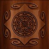Fondo astratto di legno Fotografia Stock Libera da Diritti