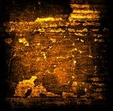 Fondo astratto di lerciume dell'oro Fotografie Stock