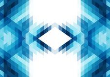 Fondo astratto di molte forme geometriche Fondo per le presentazioni sull'affare e sulle tecnologie moderne Fotografia Stock Libera da Diritti