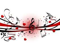 Fondo astratto di musica royalty illustrazione gratis