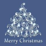 Fondo astratto di Natale Immagine Stock