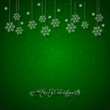 Fondo astratto di Natale illustrazione vettoriale