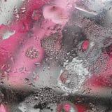 Fondo astratto di olio misto con acqua Immagini Stock