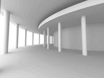 Fondo astratto di progettazione della colonna di architettura Immagini Stock
