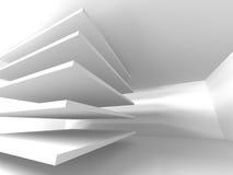 Fondo astratto di progettazione moderna di architettura Immagini Stock
