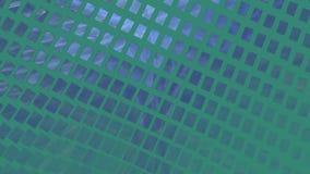 Fondo astratto di rettangolo su blu scuro archivi video