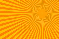 Fondo astratto di scoppio dei raggi di Sun immagine stock