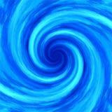 Fondo astratto di spirale del mulinello di turbinio dell'acqua Immagini Stock