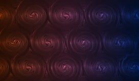 Fondo astratto di spirali Fotografia Stock Libera da Diritti