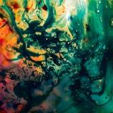 Fondo astratto di struttura di colori di acqua immagine stock