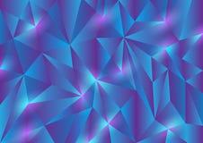 Fondo astratto di struttura del triangolo Immagine Stock