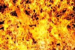 Fondo astratto di struttura della fiamma del fuoco della fiammata Fotografie Stock