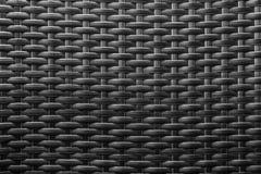Fondo astratto di struttura knited il nero Immagine Stock