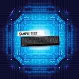 Fondo astratto di tecnologia Immagini Stock