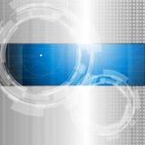 Fondo astratto di tecnologia Fotografia Stock