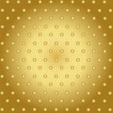 Fondo astratto di tecnologia con il metallo dell'oro Immagini Stock
