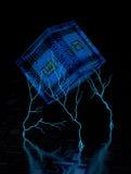 Fondo astratto II di tecnologia Fotografie Stock