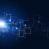 Fondo astratto di tecnologia della comunicazione Immagini Stock