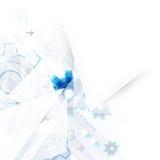 Fondo astratto di tecnologia di ingegneria royalty illustrazione gratis