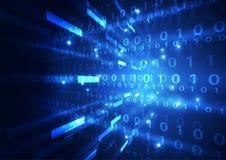 Fondo astratto di tecnologia digitale di sicurezza vettore dell'illustrazione Immagini Stock