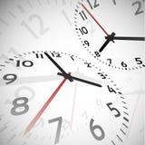 Fondo astratto di tempo Fotografie Stock