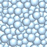 Fondo astratto di un insieme delle palle madreperlacee Fotografia Stock Libera da Diritti