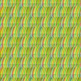 Fondo astratto di vettore con le linee colorate Fotografie Stock Libere da Diritti