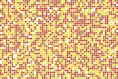 Fondo astratto di vettore del mosaico di autunno dai cerchi Royalty Illustrazione gratis