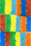 Fondo astratto disegnato con le matite colorate, il wo dell'autore Fotografia Stock