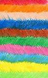 Fondo astratto disegnato con le matite colorate, il wo dell'autore Fotografia Stock Libera da Diritti