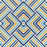 Fondo astratto etnico luminoso Modello senza cuciture con l'ornamento geometrico simmetrico Immagini Stock Libere da Diritti