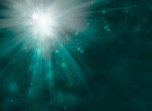 Fondo astratto festivo luminoso di Starburst Fotografia Stock