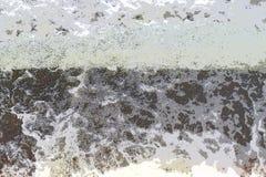 Fondo astratto - forme bianche irregolari con il nero e Grey Hues - flusso di acqua immagine stock