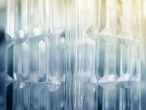 Fondo astratto futuristico del modello di Crystal Geometric Fotografia Stock Libera da Diritti