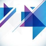 Fondo astratto geometrico Fotografia Stock