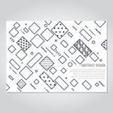 Fondo astratto geometrico con la diagonale Fotografia Stock