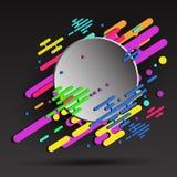 fondo astratto geometrico 3d per la vostra insegna - vector eps10 Fotografia Stock