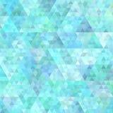 Fondo astratto geometrico del modello del poligono del triangolo Fotografia Stock