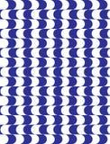 Fondo astratto geometrico moderno blu Immagine Stock Libera da Diritti