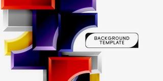 Fondo astratto geometrico moderno fotografia stock libera da diritti