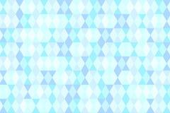 Fondo astratto geometrico pastello blu Fotografia Stock Libera da Diritti