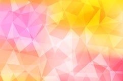 Fondo astratto geometrico variopinto, vettore eps10 illustrazione di stock