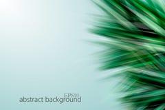 Fondo astratto geometrico verde Immagini Stock