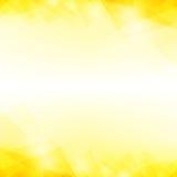 Fondo astratto giallo Immagine Stock
