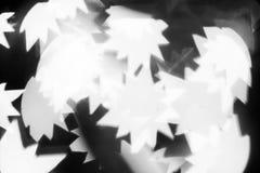 Fondo astratto - incandescenza - stelle Colore biancastro, luminosità fotografia stock