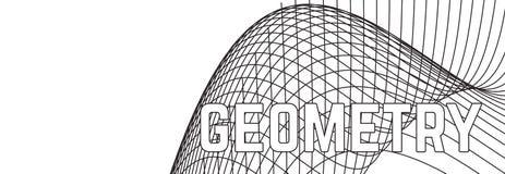 Fondo astratto minimo geometrico di vettore illustrazione vettoriale