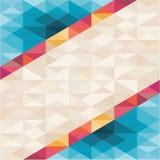 Fondo astratto - modello geometrico Fotografia Stock