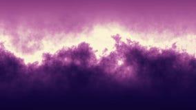 Fondo astratto molle di animazione di turbolenza porpora della nuvola - neon naturale di nuovo moto allegro variopinto unico di q illustrazione di stock